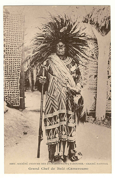 Great chief of Bal (King Fonyonga II of Bali-Nyonga, r. 190140)